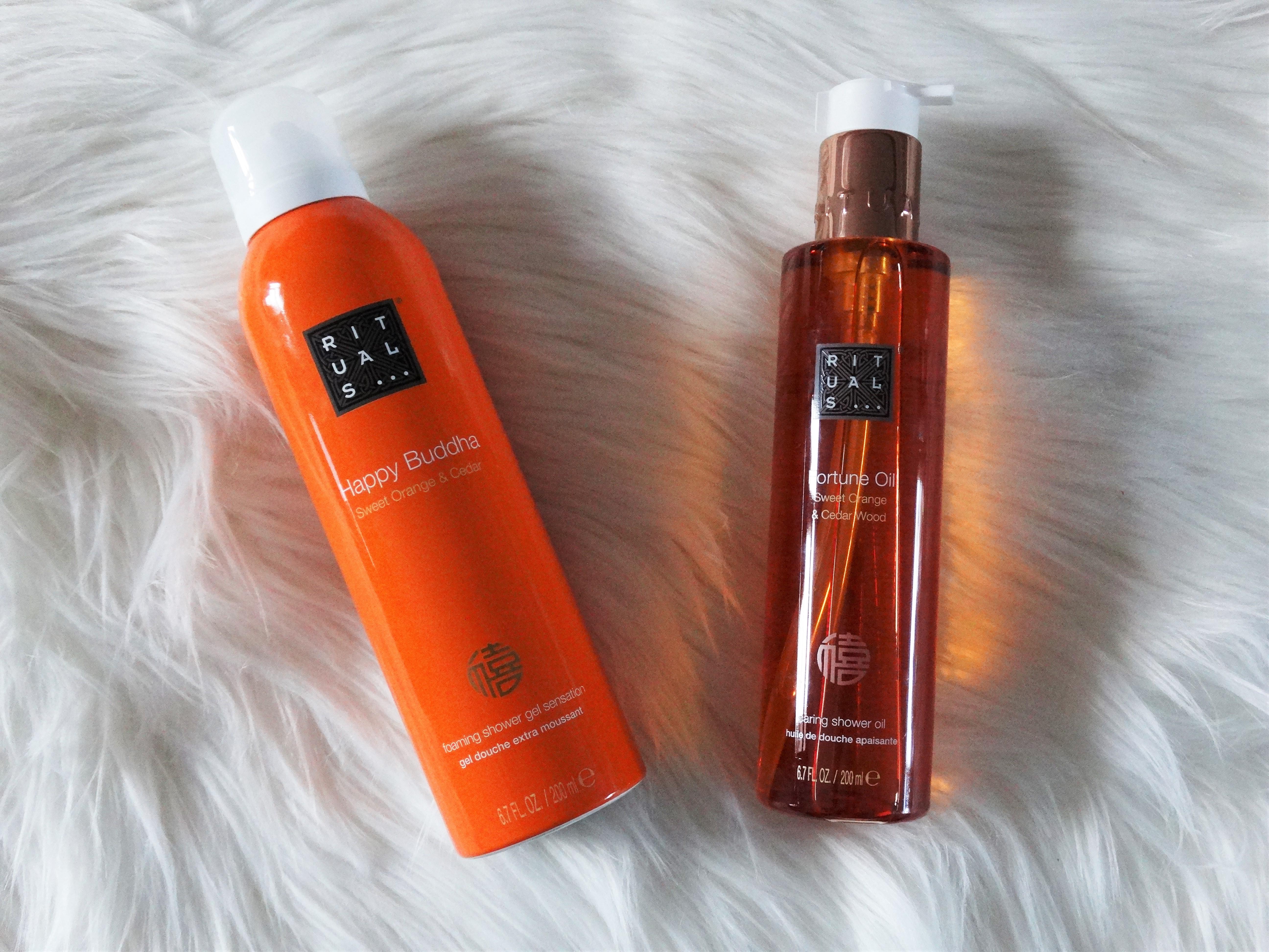New in: Rituals sweet orange & cedar