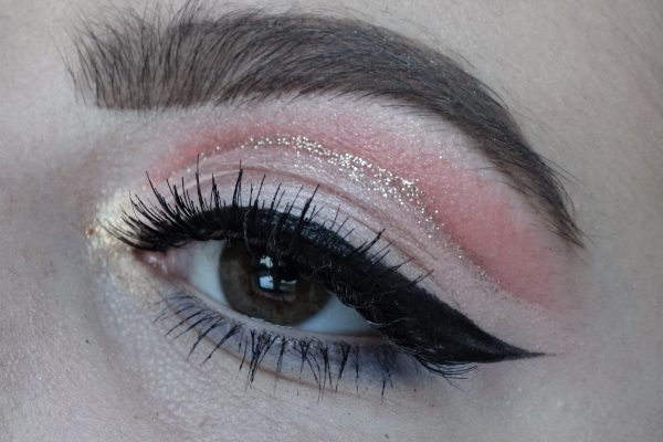 orange cut crease