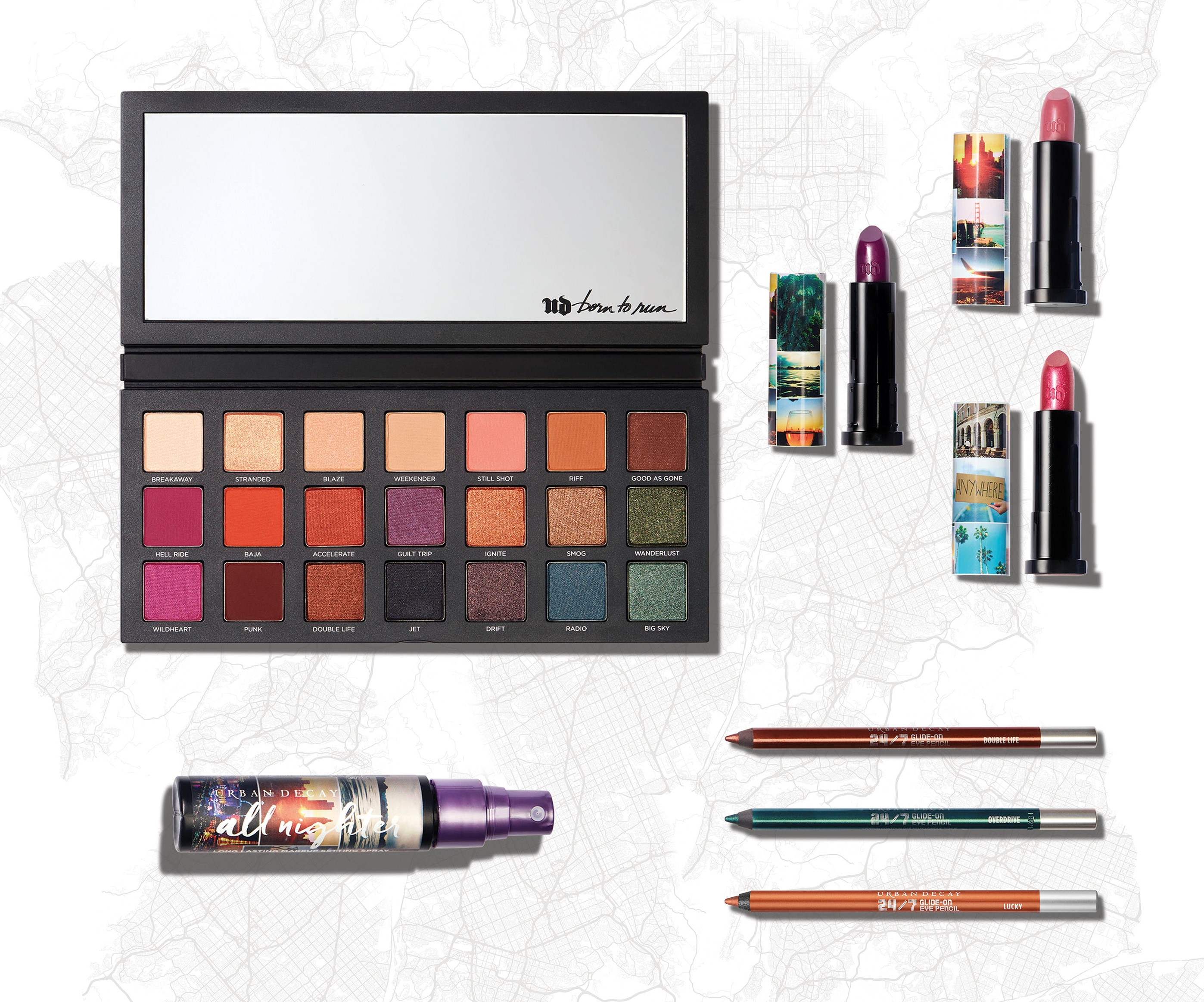 Born to Run collectie urban decay