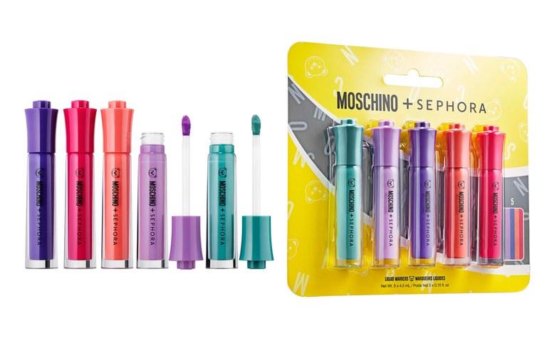 Sephora x Moschino lips