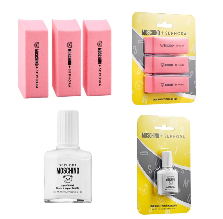 Sephora x Moschino sponsjes en nagellak