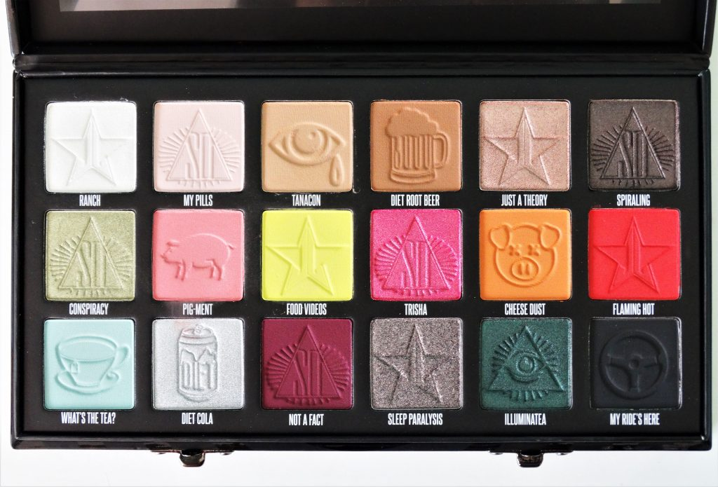 review conspiracy palette