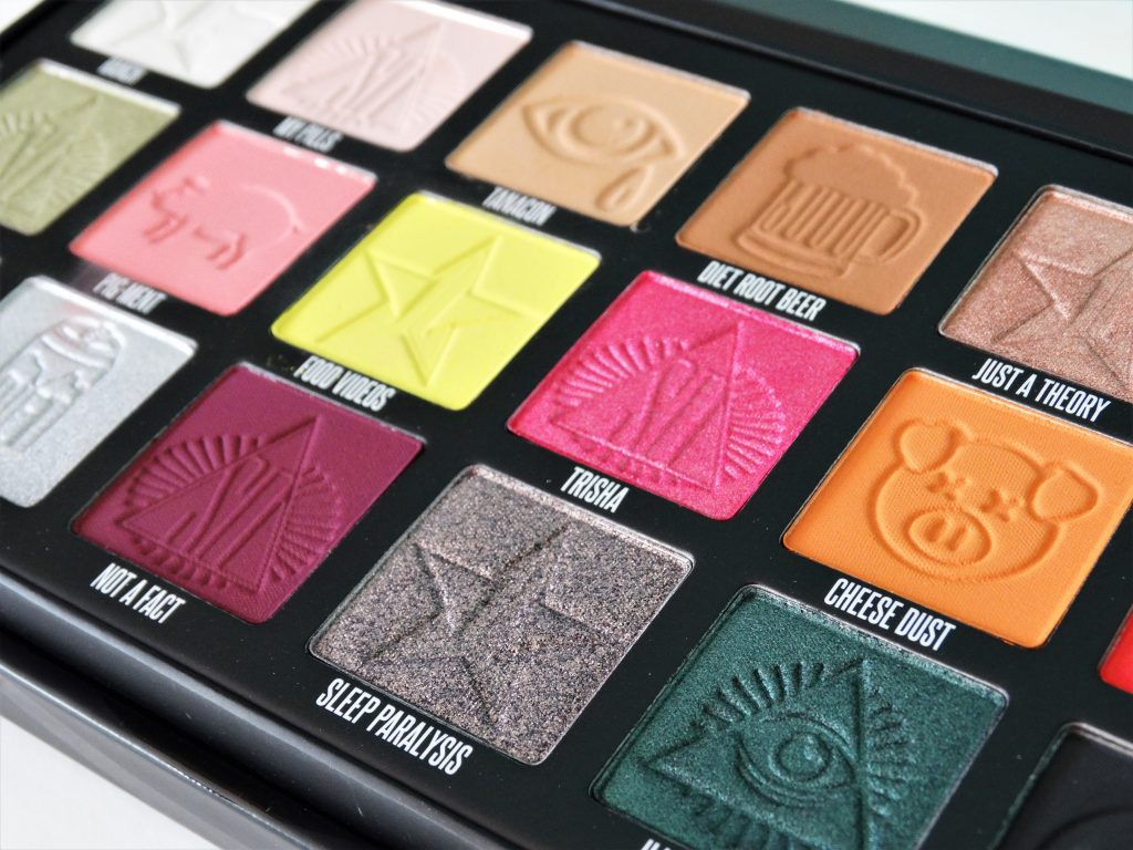 review the conspiracy palette jeffree star shane dawson