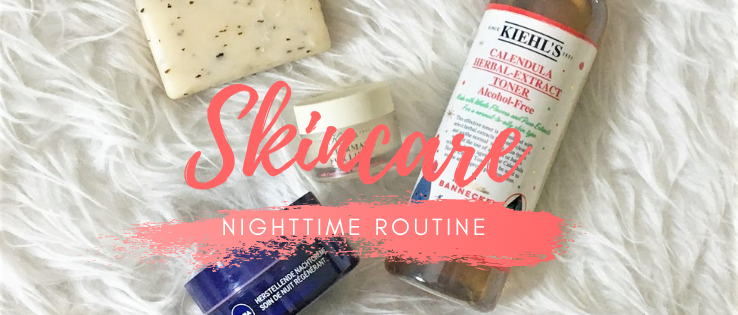 Nighttime skincare routine september 2020
