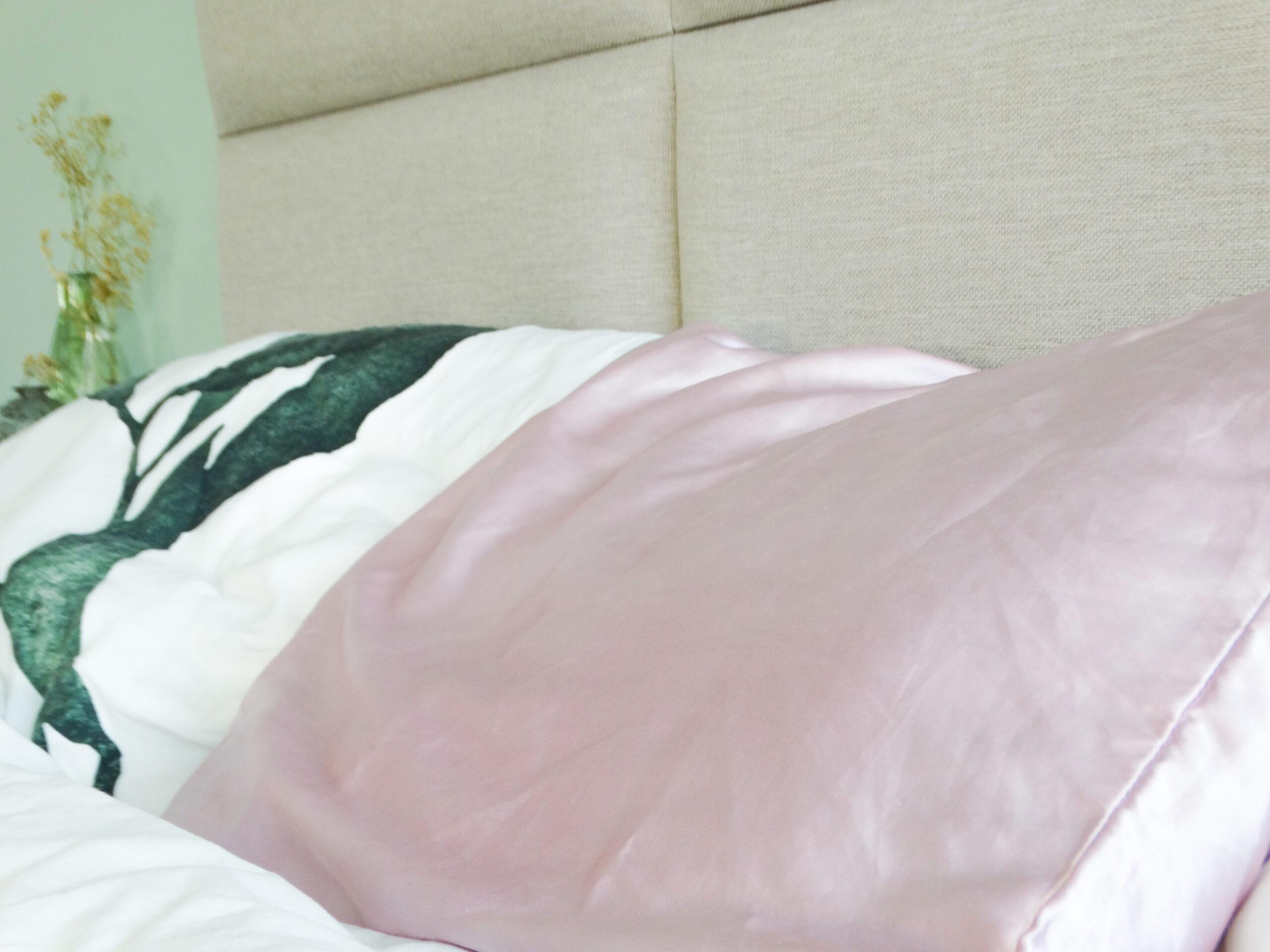 review satin pillow