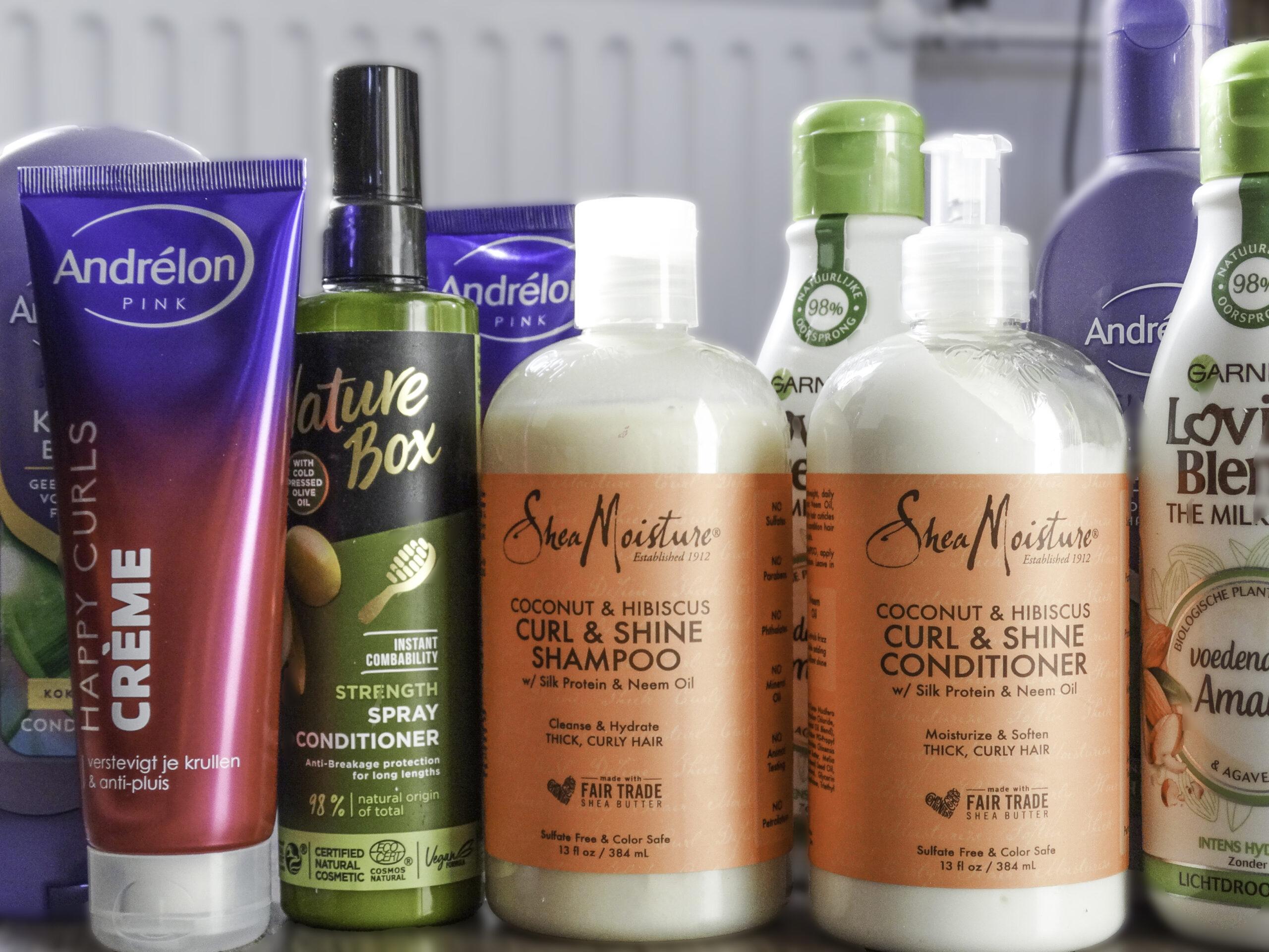 producten voor curly girl methode